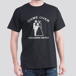Game Over (Your Wedding Date) Dark T-Shirt