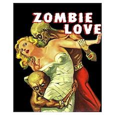 Zombie Love Poster