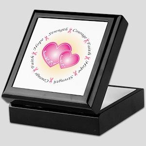 Pink Ribbon Keepsake Box