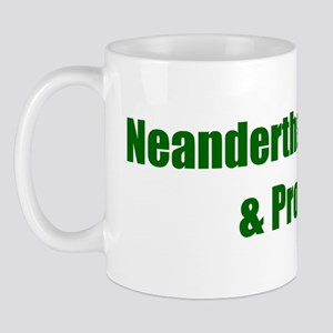 Neanderthal Hybrid & Proud Mug