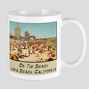 On The Beach Long Beach Mug