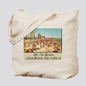 On The Beach Long Beach Tote Bag