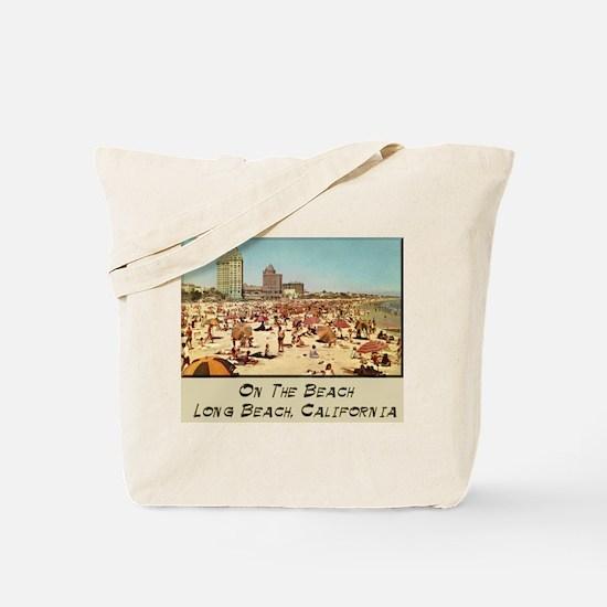 On The Beach Long Beach Tote Bag
