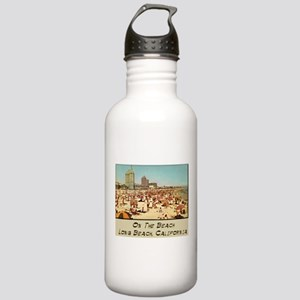 On The Beach Long Beach Stainless Water Bottle 1.0