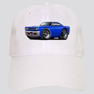 1968 Roadrunner Blue Car Cap