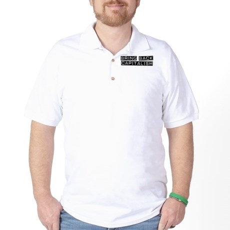 Capitalism Golf Shirt