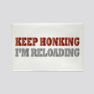 Keep Honking Rectangle Magnet