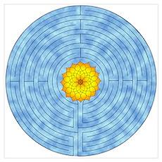 Labyrinth Lotus Poster