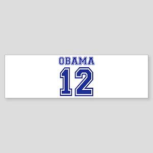 Obama 2012 Sticker (Bumper)
