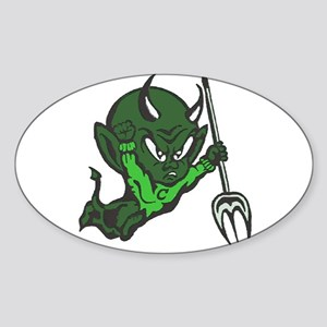 Cary High Oval Sticker