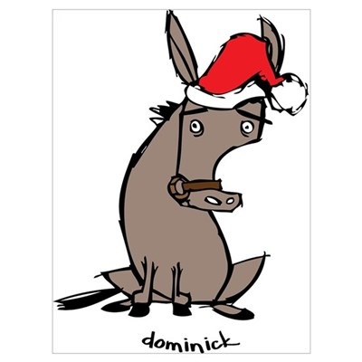 dominick the donkey poster - Dominique The Christmas Donkey