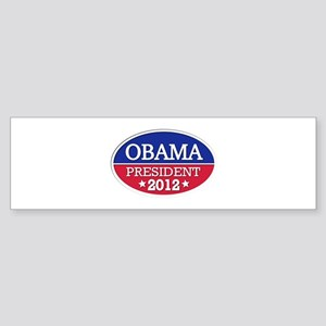 Obama President 2012 Sticker (Bumper)