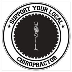 Support Chiropractor Poster