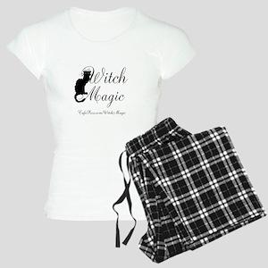 Witch Magic, black cat Women's Light Pajamas
