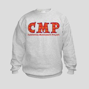 Fish Print CMP Kids Sweatshirt