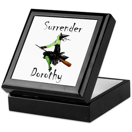 Surrender Dorothy Keepsake Box