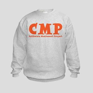 Orange CMP Kids Sweatshirt