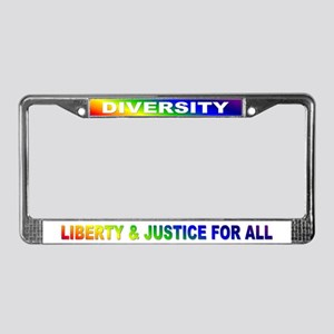 liberty & justice... License Plate Frame