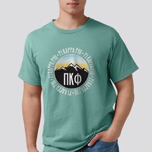 Pi Kappa Phi Mountain Mens Comfort Color T-Shirts