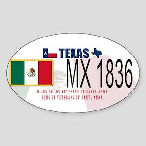 Texas P&P Sticker (Oval)