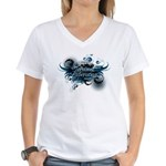 Animal Liberation 4 - Women's V-Neck T-Shirt