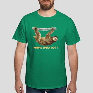 WANNA HANG OUT? Dark T-Shirt