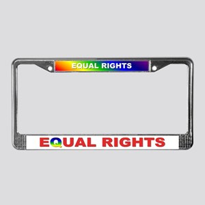 equal rights... License Plate Frame