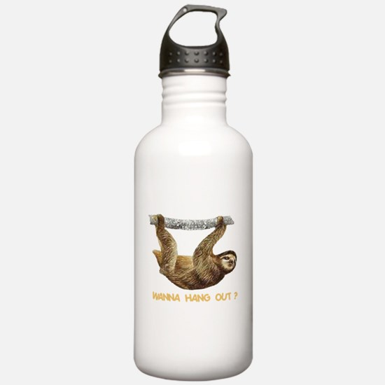 WANNA HANG OUT? Water Bottle