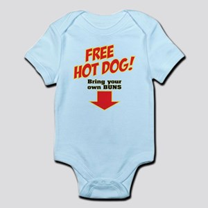 Free hot dog! Infant Bodysuit