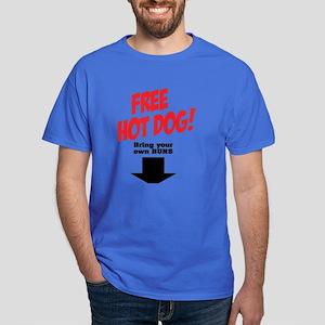 Free hot dog! Dark T-Shirt