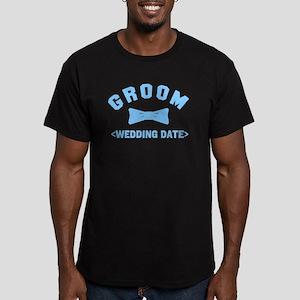 Groom (Your Wedding Date) Men's Fitted T-Shirt (da