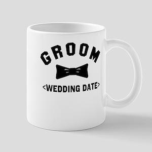 Groom (Your Wedding Date) Mug