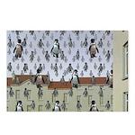 Raining Penguins Postcards (Package of 8)