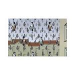 Raining Penguins 38.5 x 24.5 Wall Peel