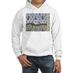 Raining Penguins Hooded Sweatshirt