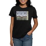 Raining Penguins Women's Dark T-Shirt