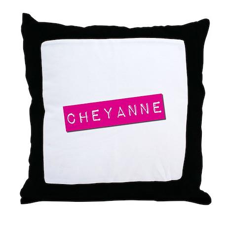 Cheyanne Punchtape Throw Pillow