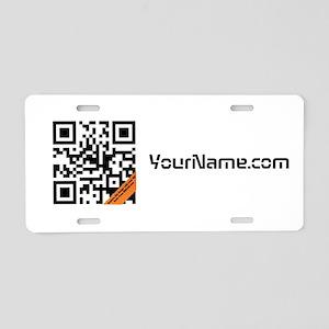 Aluminum QR Code License Plate