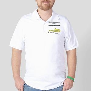Twisted Sax Golf Shirt