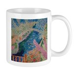 """Bench at Giverny"" (TM) Mug"