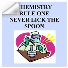 funny chemistry jokes Wall Decal