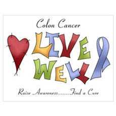 Colon Cancer (lw) Poster