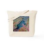 """Bench at Giverny"" (TM) Tote Bag"