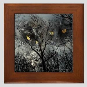 Enchanted forest 1 Framed Tile