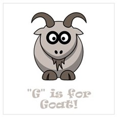 G is for Goat! Poster