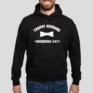 Trophy Husband (Your Wedding Date) Hoodie (dark)