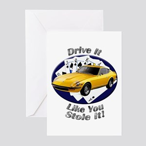Datsun 240Z Greeting Cards (Pk of 20)