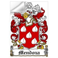 Mendoza Family Crest Wall Decal