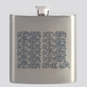 Never, never, never give up Flask