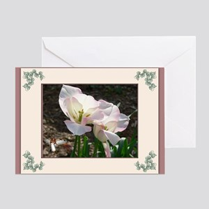 Angelic Beauty Greeting Card